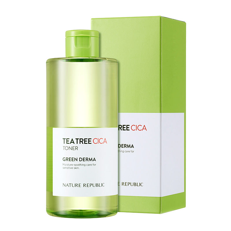 GREEN DERMA TEA TREE CICA TONER