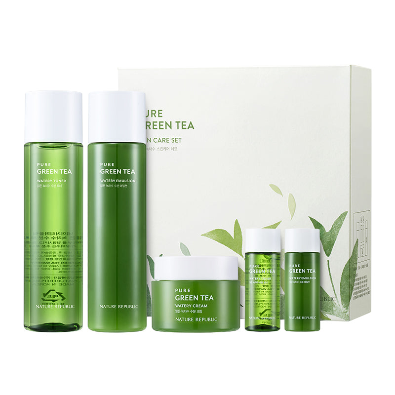 PURE GREEN TEA SKINCARE SET