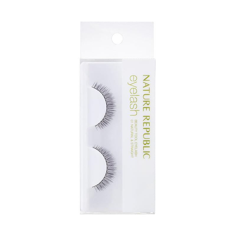 BEAUTY TOOL EYELASH 01 NATURAL & STRAIGHT