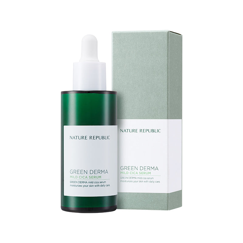 GREEN DERMA MILD CICA SERUM