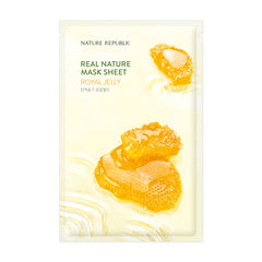 REAL NATURE ROYAL JELLY MASK SHEET ®