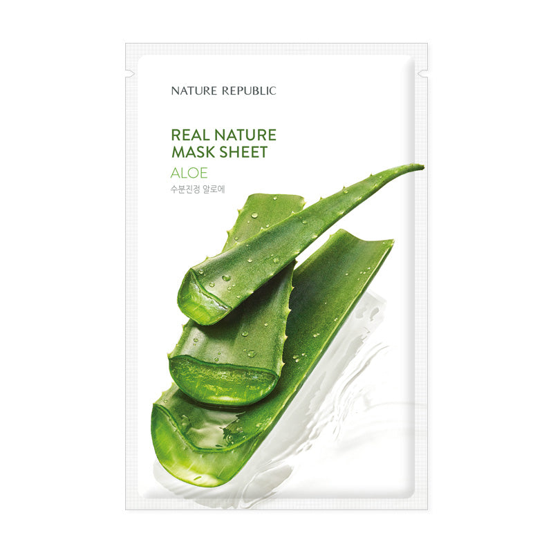 REAL NATURE ALOE MASK SHEET ®