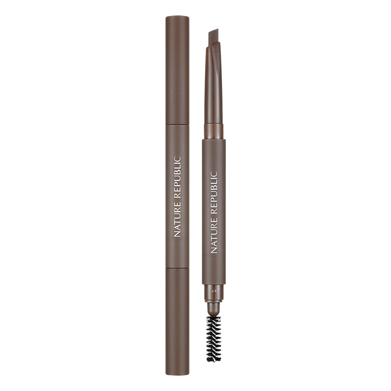 BY FLOWER AUTO EYEBROW 02 PECAN BROWN