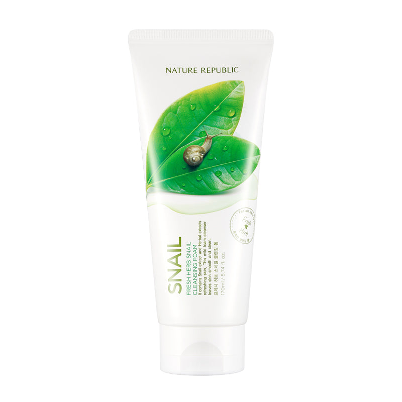 FRESH HERB SNAIL CLEANSING FOAM