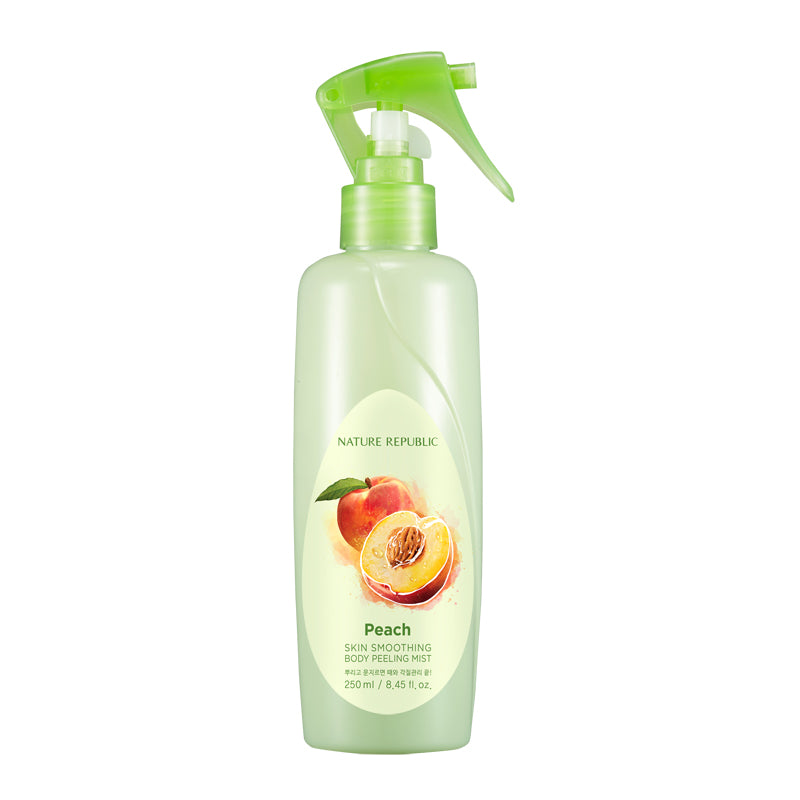 SKIN SMOOTHING BODY PEELING MIST-PEACH