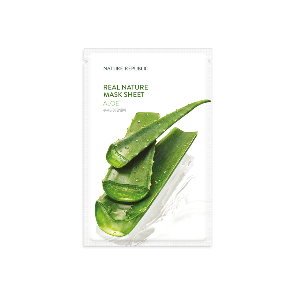 NRP1653  10+10 REAL NATURE ALOE MASK SHEET