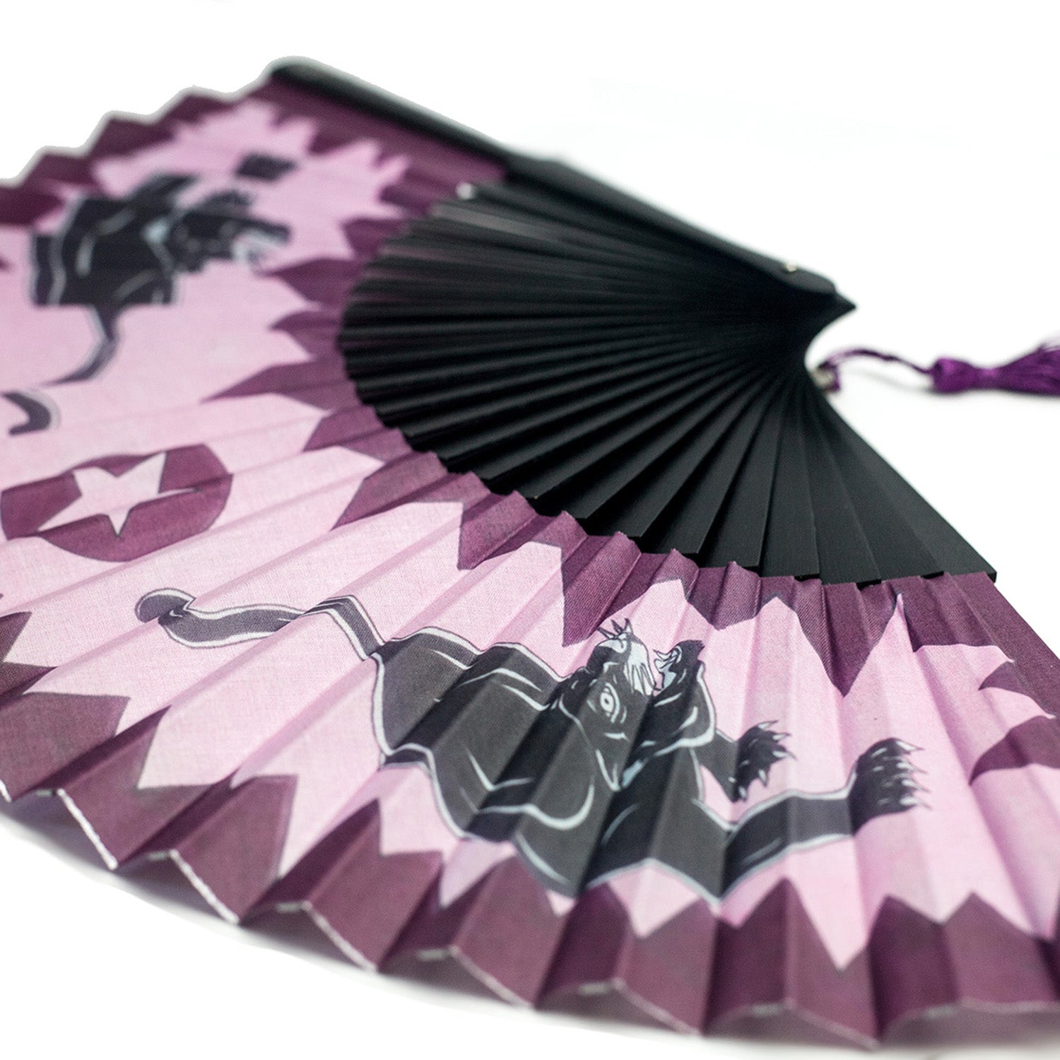Pink Panther Hand Fan