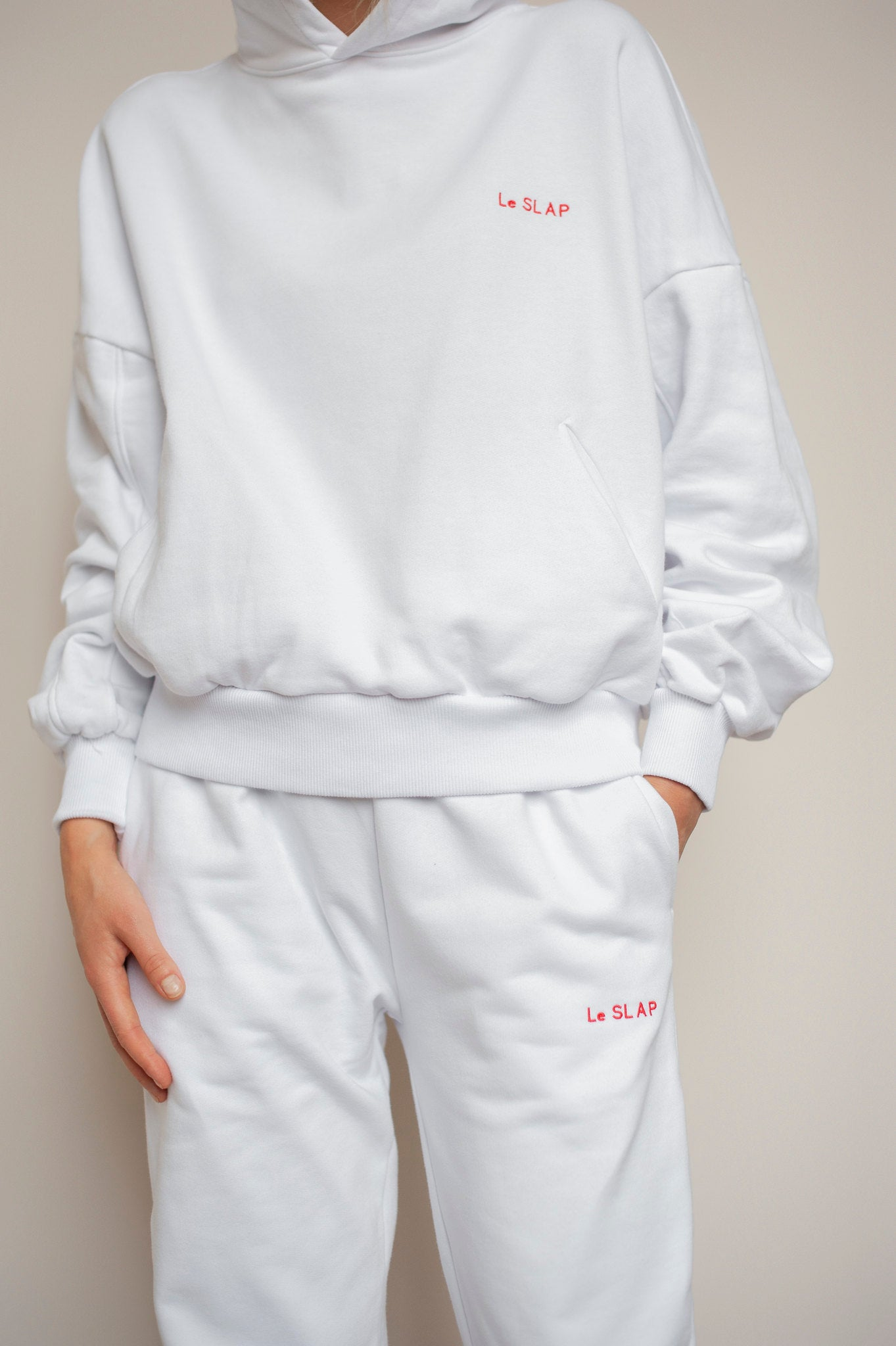 Hoodie White | UNIFORM collection