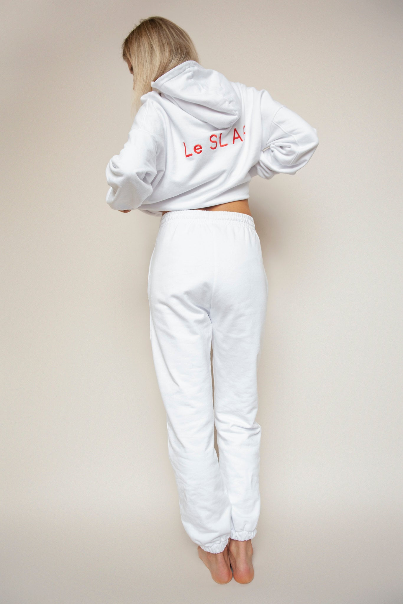 Sweat Joggers White | UNIFORM collection