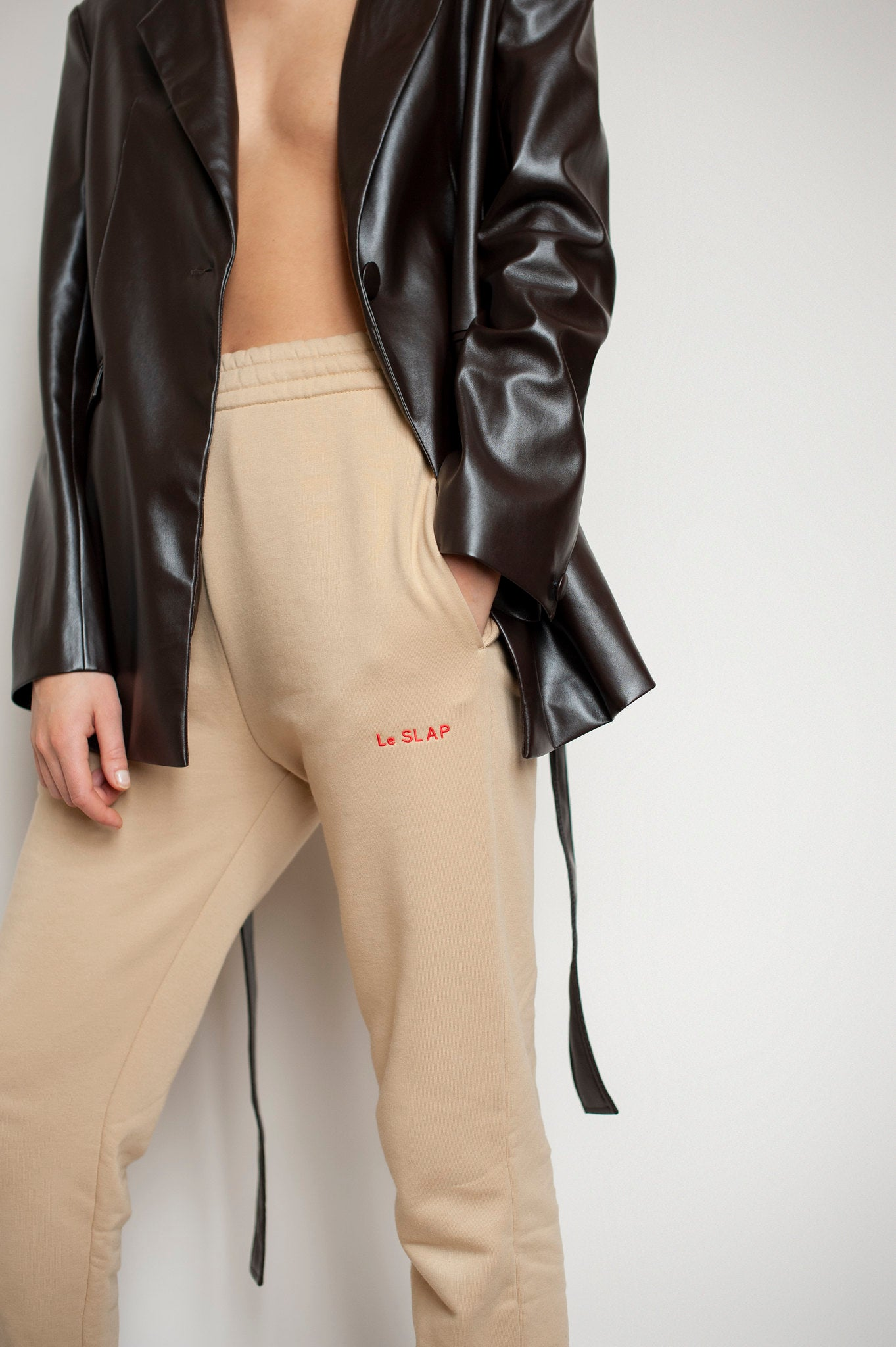 Sweat Joggers Nude | UNIFORM collection