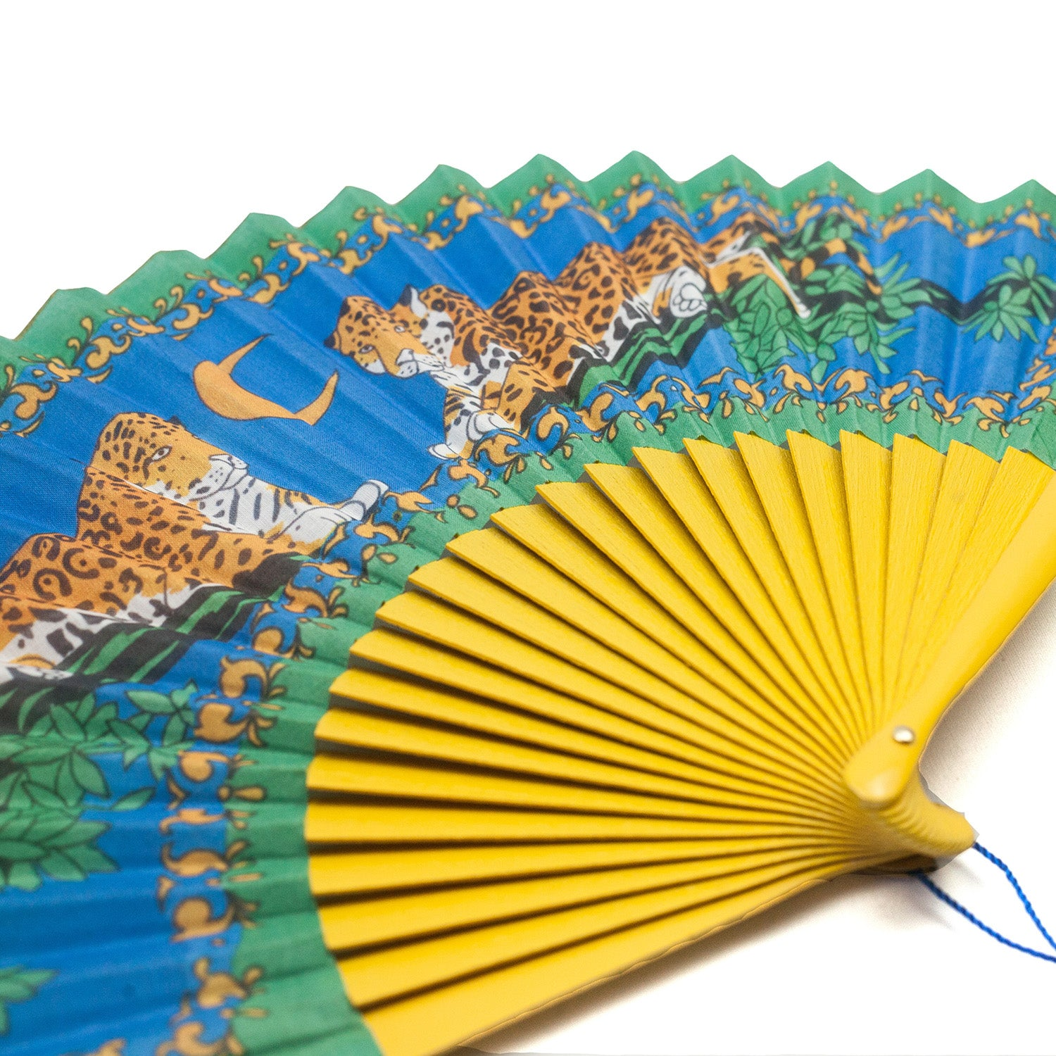 Lazy Leopards Hand Fan