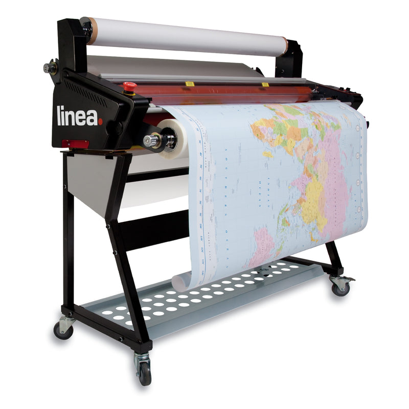 Linea DH-1100 A0 Professional Roll Laminator ***DUAL FINISH - DOUBLE-SIDED & COLD FILMS.***
