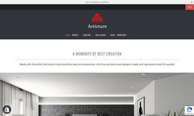 The Articture Shop | E-Commerce Store