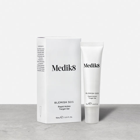 Blemish SOS™ by Medik8.  An effective rapid action treatment gel.