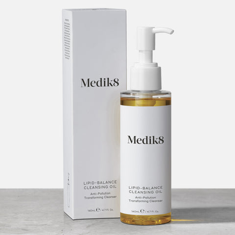 Lipid-Balance Cleansing Oil™ by Medik8. An Anti-Pollution Transforming Cleanser