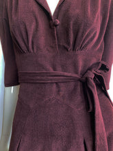Load image into Gallery viewer, The Dorothy in burgundy corduroy limited edition