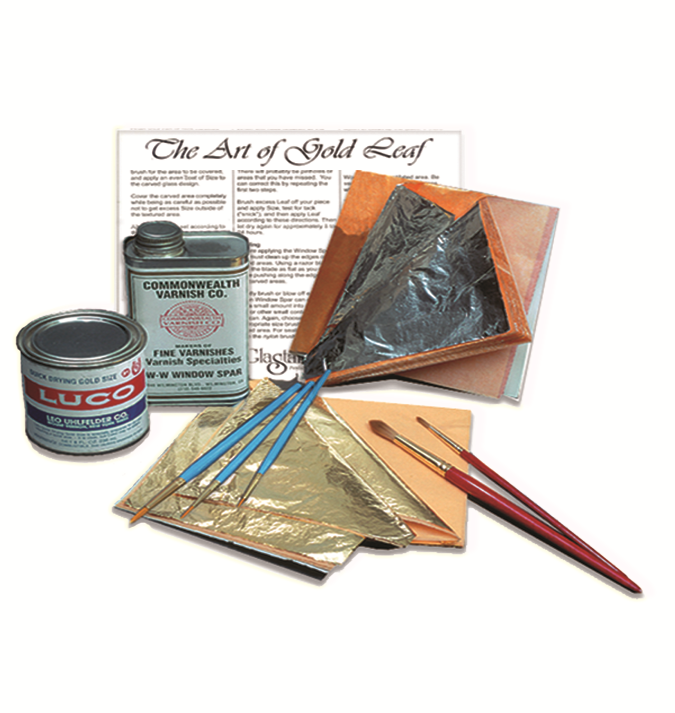 The Art of Gold Leaf-Instructions for Use