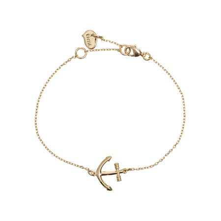Sailor's Anchor Bracelet Gold