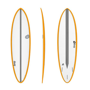Torq 6'8 Funboard CS Orange Surfboard