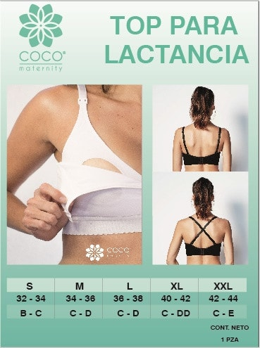 Top cuello V CocoMaternity