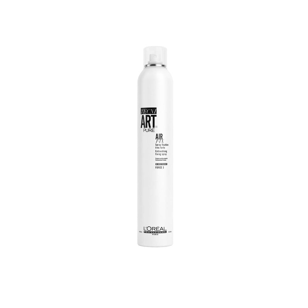 Load image into Gallery viewer, Air Fix Pure Fragrance-Free Extra-Strong Hair Spray 400ML - TECNI ART