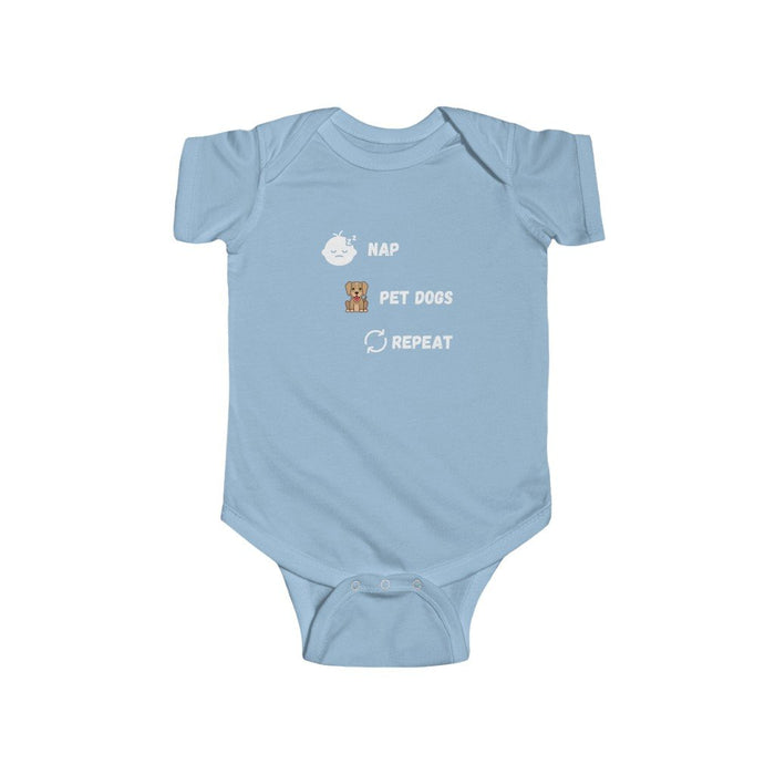 Nap, Pet Dogs, Repeat - Kids Onesie