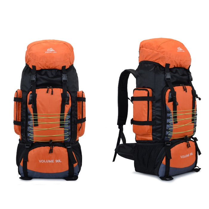 90L Travel Bag Camping Backpack Hiking Army Trekking Bags