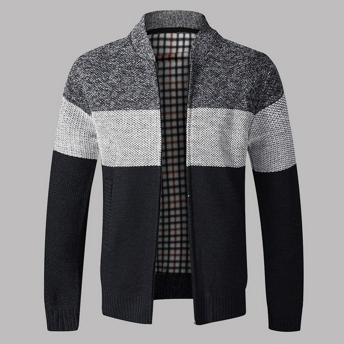 Men Autumn Sweater Coat Thick Fashion Casual Sweater Cardigan Men Brand Slim Fit Knitwear Outerwear Warm Winter Sweater Jumper