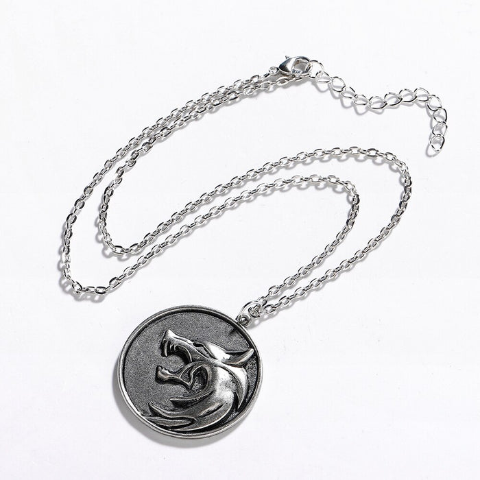 Hanreshe Wolf Head Necklace For Women - Christmas Gift