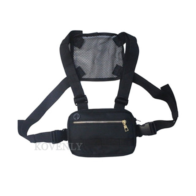 Chest Rig Men Bag Casual Function Outdoor Style Chest Bag Small Tactical Vest Bags Streetwear