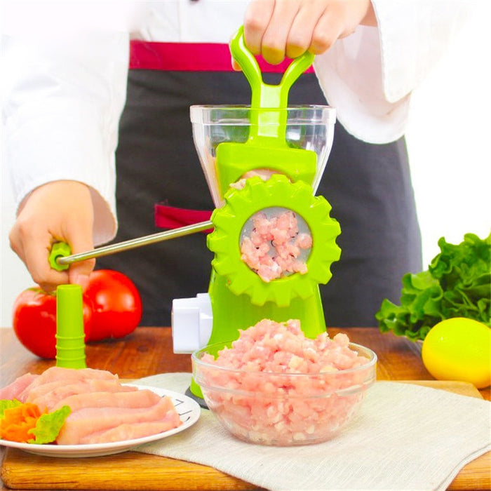 Multifunction Manual Meat Grinder Stainless Steel Blade Home Cooking Machine Mincer Sausage Machine Food Grinder Sausage Maker