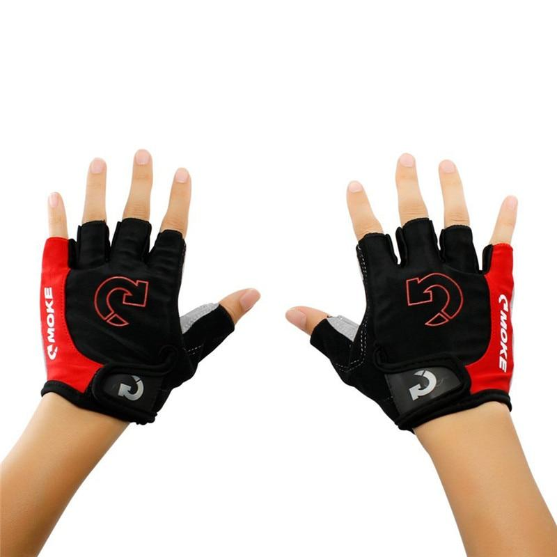 Men Cycling Gloves Bicycle Sports Half Finger Gloves Anti-slip Gel Pad Motorcycle MTB Road Bike Gloves S-XL