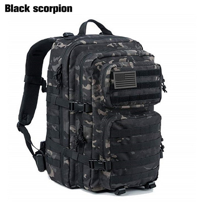 50L Large Capacity Man Tactical Backpacks Military Bags Waterproof Outdoor Sport Hiking Camping Bag Rucksack