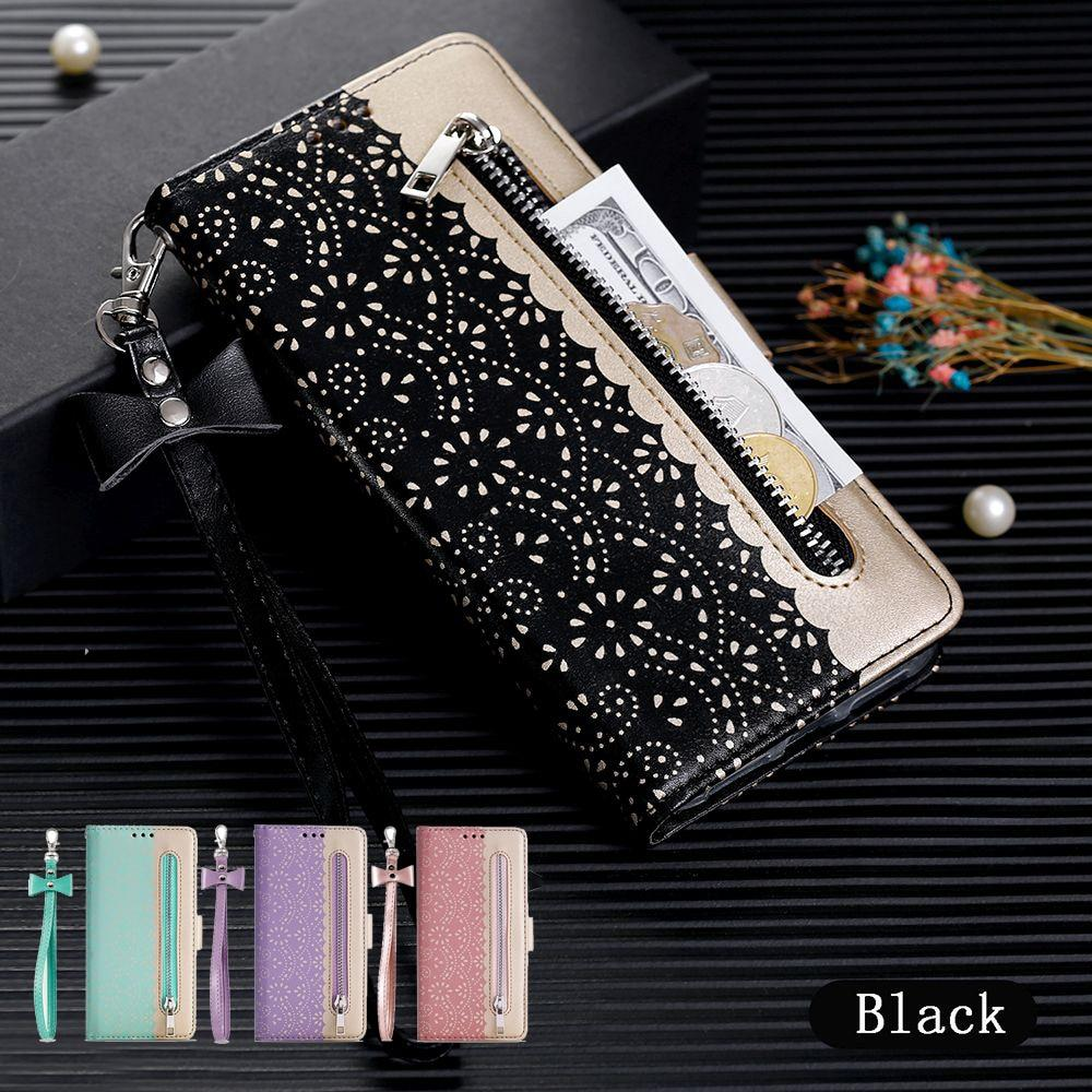 Luxury Magnetic Leather Wallet Phone Case for IPhone