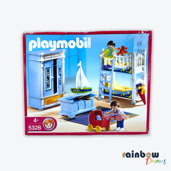 Playmobil 5328 Children's bedroom Set