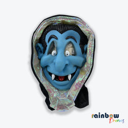 FUNNY SCARY DRACULA FACEMASK FOR HALLOWEEN