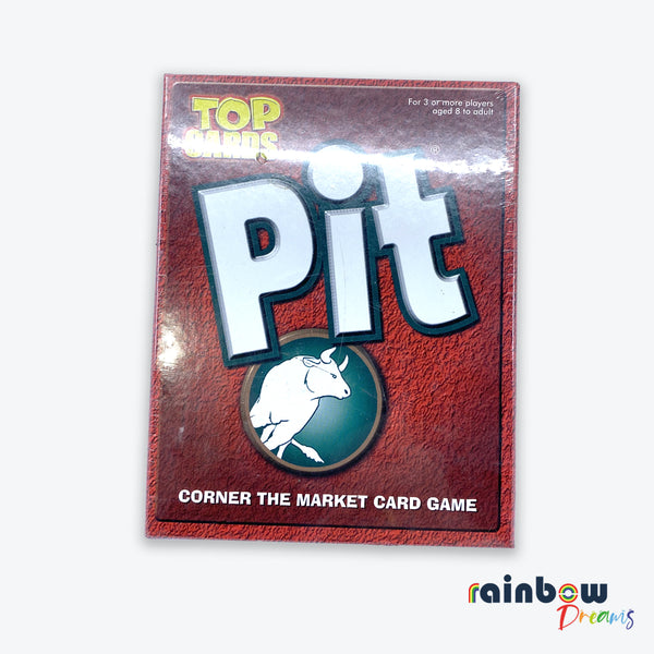 Corner the Market Pit Card Game