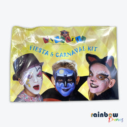 Fiesta & Carnaval Professional Water Base Make up Kit