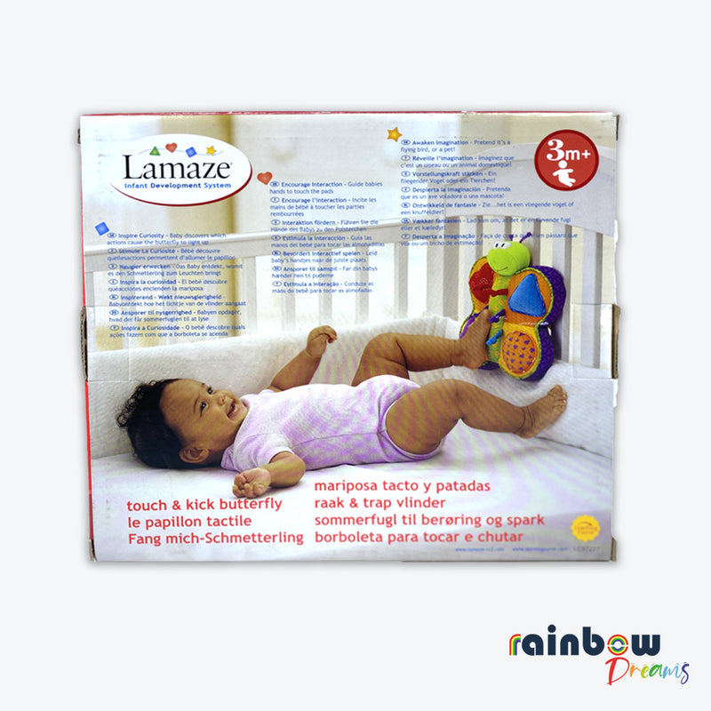 Lamaze Touch & Kick Butterfly Baby Toy