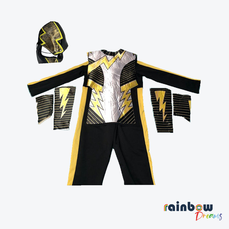 Electrovolt Ninja Red Fire Ninja Deluxe Boys Costume