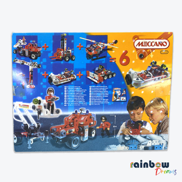 MECCANO CITY 7105 - FIRE TRUCK