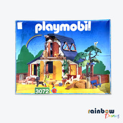 Playmobil 3072 Fram House With Animals