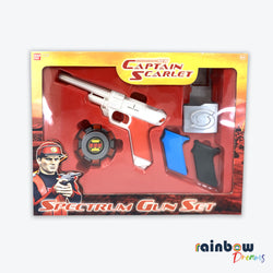 Vintage Captain Scarlett Spectrum Gun Set