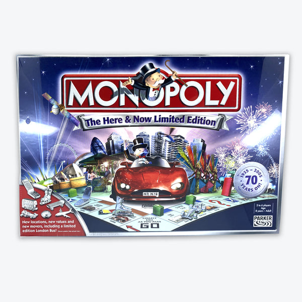 Monopoly Board Game - Here & Now Limited Edition
