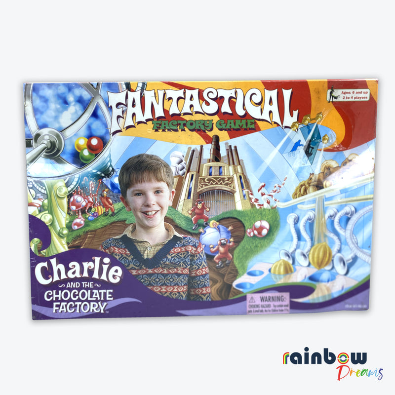 Charlie And The Chocolate Fantastical Factory Board Game