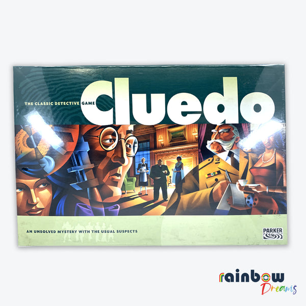 CLUEDO The Classic Detective Game Set