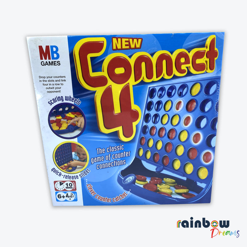 Connect 4 Board Game MB Games
