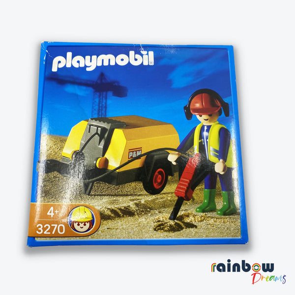 Playmobil Jack Hammer Play Set 3270