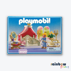 Vintage Playmobil 3020 Bedroom with Canopy Bed