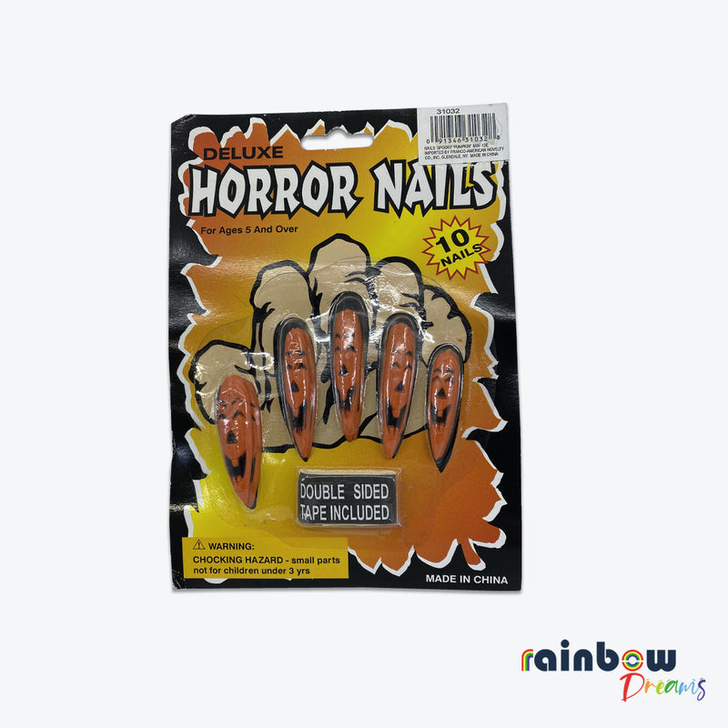 DELUXE HORROR NAILS COSTUME ACCESSORY